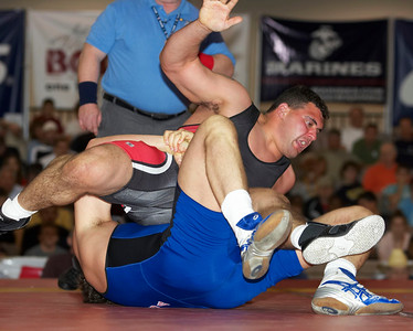 Greco-Roman Championships120 Kg Russ Davie def. Timothy Taylor