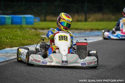 Tullyallen Karting Club - 2020 Championship - Round 1 - Whiteriver - Alyx Coby