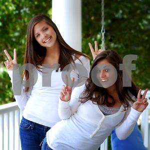 Megan and Kelly