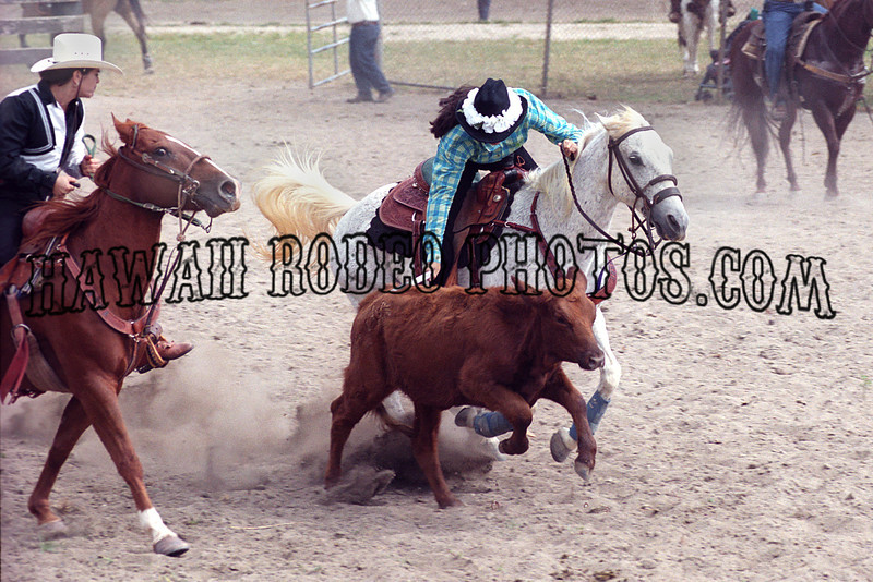 ALL GIRLS RODEO KUALOA 2001