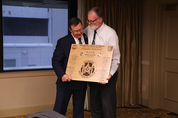 7-Gift to Ken Roy, Jr. by his Officers