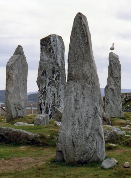 Callanish Stones - Isle of Lewis, Scotland, UK - May 24, 1989