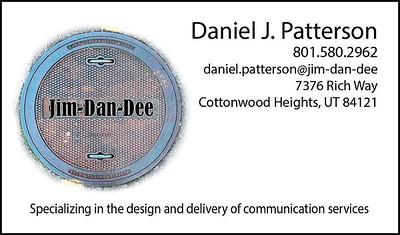 Jim-Dan-Dee - Business Card Design