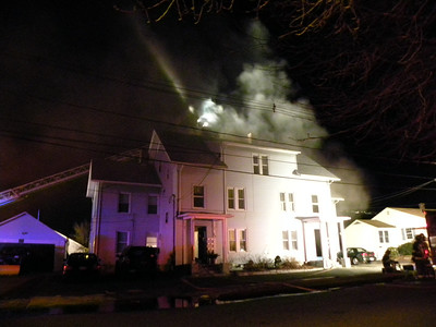 Ludlow, MA 2nd alarm 21 Lower Whitney Ave. 2/26/12