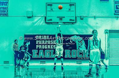 2016 Basketball Eagle Rock Girls vs Lincoln Tigers 15Jan2016