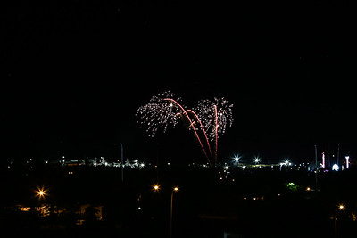 Midway and Fireworks