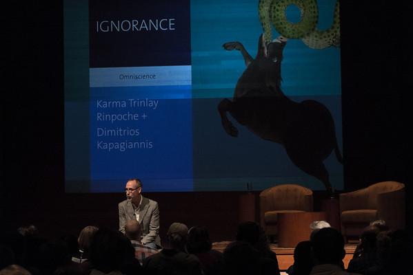 Trinlay + Kapagiannis, Justin Vivian Bond Intro