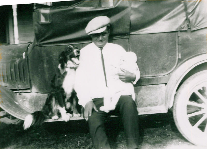 1920 Tony and Don and Curley the dog.jpeg