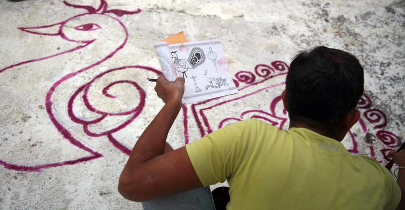 Paint by number, Bundi