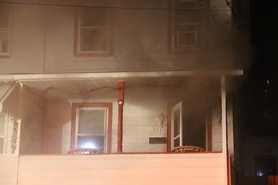 House Fire, 254 East Abbott Street, Lansford (5-27-2014)