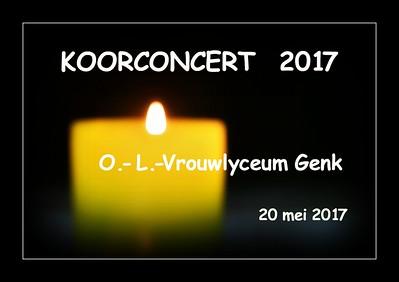 Koorconcert 2017  @ OLV Genk  20/05/2017