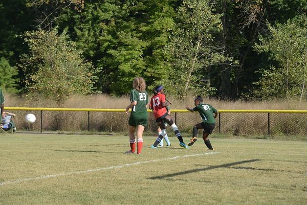 Middle School Girls Soccer: GA vs Shipley