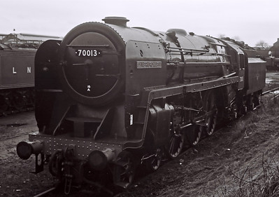 70013 Oliver Cromwell, 1968 - 2008