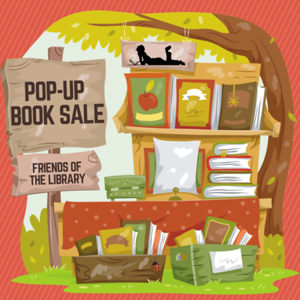 Friends of the Library Pop-up Book Sale