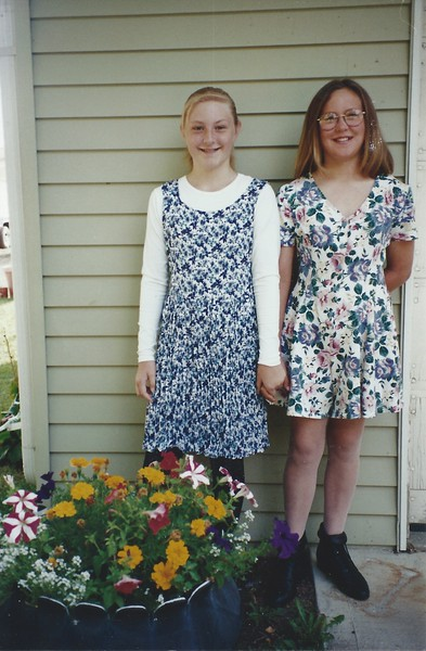 Devon and Amy in 5th grade.jpeg