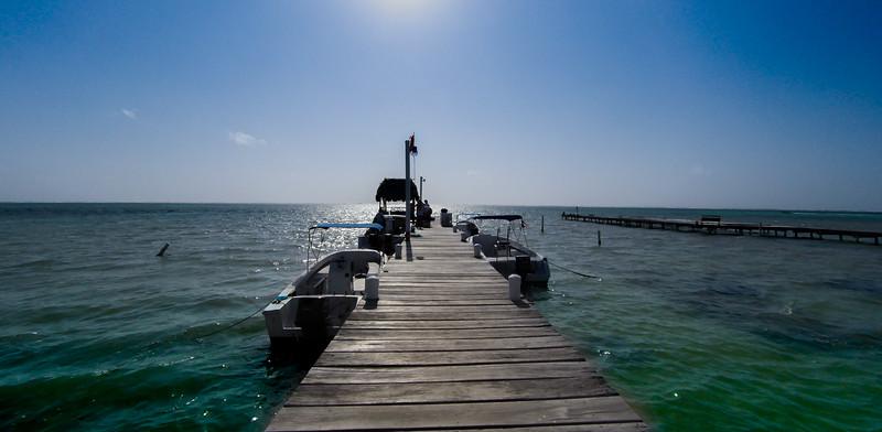 Pier Near Dive Shop