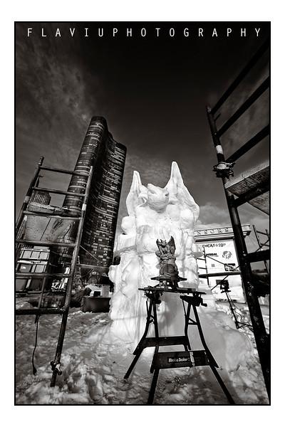Chicago Snow Sculptural Contest 2011