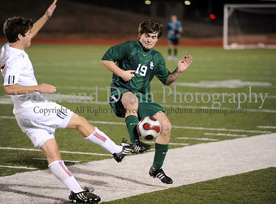 2010-01-12 - Carroll v Grapevine (Varsity Soccer - men)