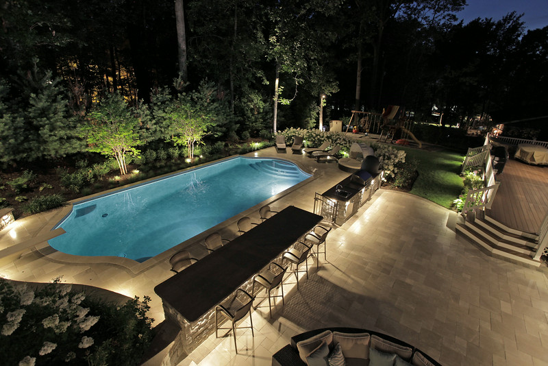 BERKELEY HEIGHTS - Custom Luxury Pool