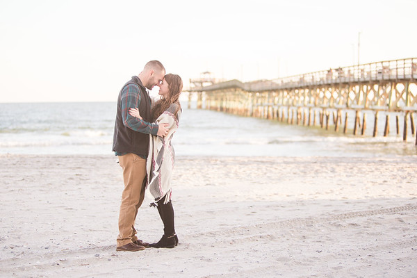 Adam+Riley Brooke | Surprise Engagement | Cherry Grove, SC