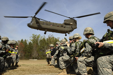 ROTC Chinook Pick Up