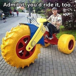 """big wheel"" Drift..?? trikes"