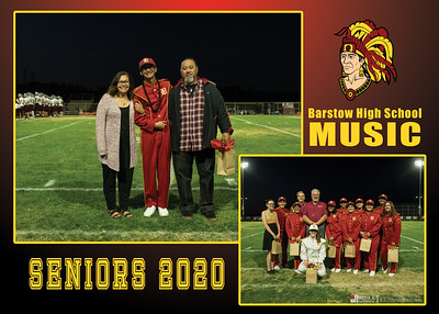 BHS Music Senior Night 2020