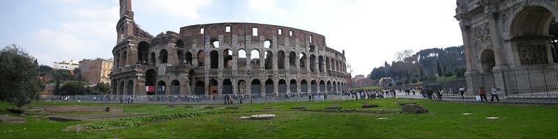Coliseum panoramic