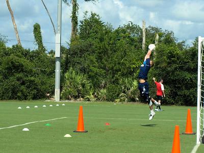 Bolton Wanderers practice Florida USA