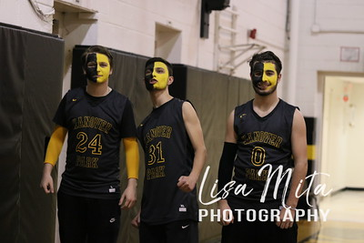 3/1/17 Hanover Park Boys Basketball vs. Newark Central