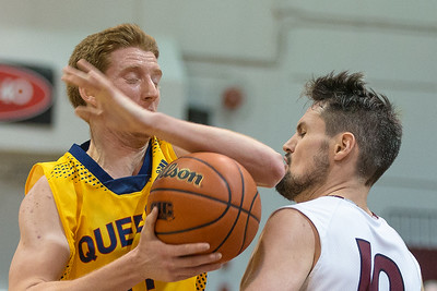Men's Basketball - Queen's at McMaster 20150207