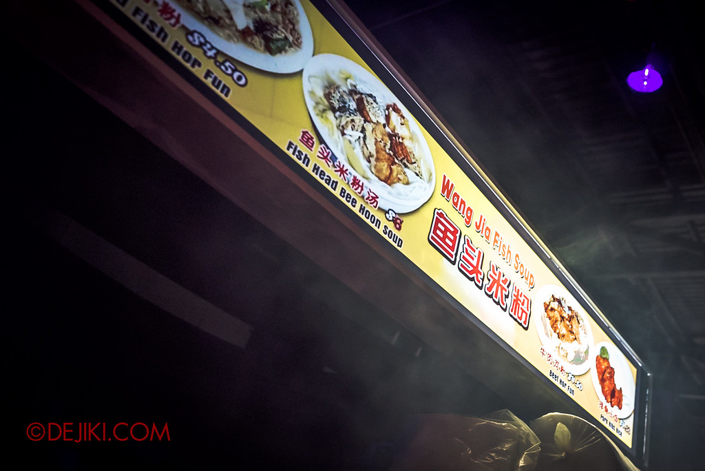 Halloween Horror Nights 6 - Hawker Centre Massacre / Uncle Wang