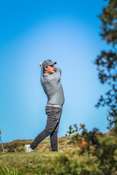 GS, Róbert Smári Jónsson Íslandsmót í golfi 2019 - Grafarholt 2. keppnisdagur Mynd: seth@golf.is