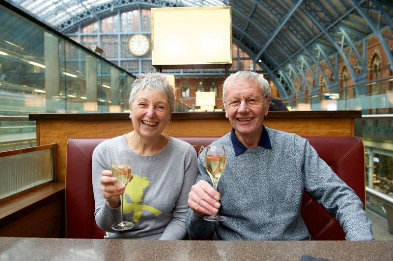 Alan and Sandra