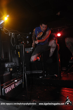 Grave Maker - This Is Hell - at Cafe Drummonds - Aberdeen, UK - October 4, 2009