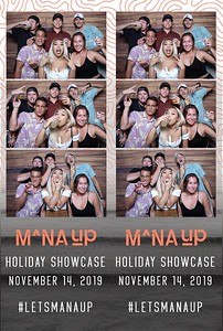 Mana Up | Holiday 2019 (Fusion Photo Booth)