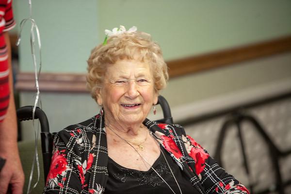 Bernice 99 years young