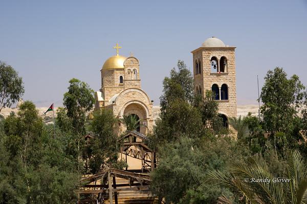 Jordan River - Site of the Baptism of Jesus