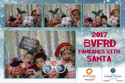 BVFRD Pancakes with Santa