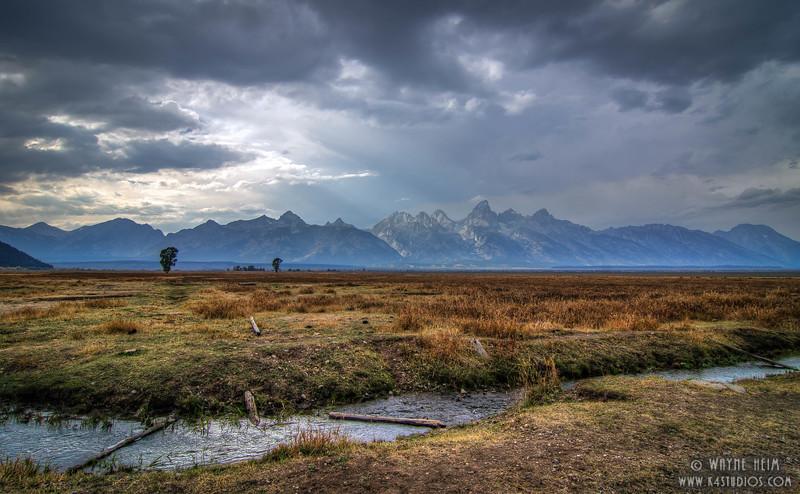 Wandering Stream  Photography by Wayne Heim