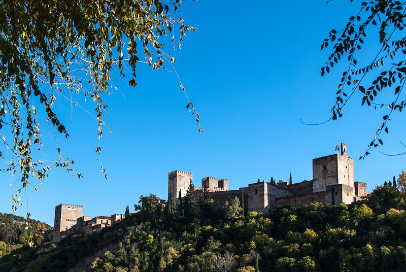 La Alhambra from Granada