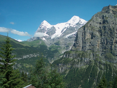 The Eiger in Switzerland