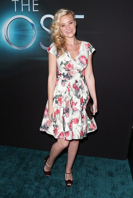 """. Actress A. J. Michalka attends the Premiere of Open Roads Films \""""The Host\"""" at the ArcLight Cinemas Cinerama Dome on March 19, 2013 in Hollywood, California.  (Photo by Frederick M. Brown/Getty Images)"""