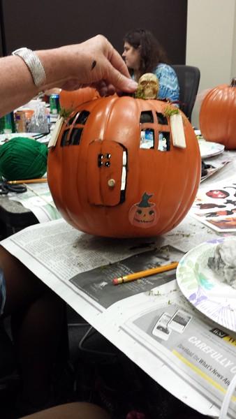 2015 October - Glue Gun Gang: Pumpkin House Party