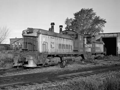 C&NW—Diesel Locomotives (Switchers)