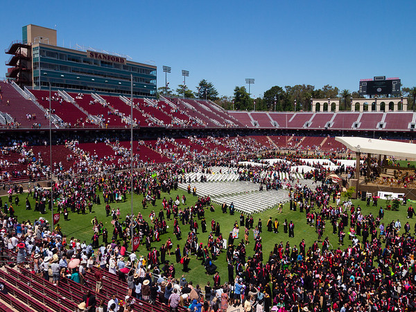 Stanford's 121st Commencement