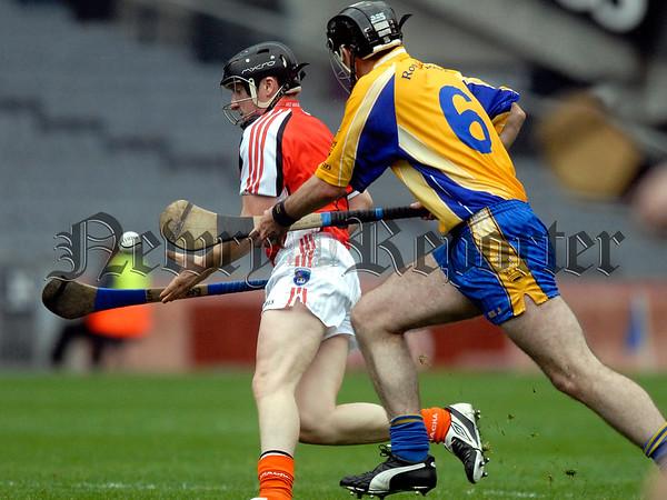 Nicky Rackard Cup Final Armagh V Roscommon. Armagh Barney McCann 07W33N255