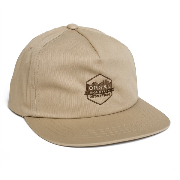 Outdoor Apparel - Organ Mountain Outfitters - Hat - Classic Snapback - Khaki.jpg
