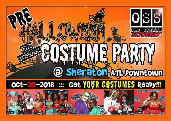 Oct-20-2018 OSS @ Sheraton Downtown *** Pre-Halloween Costume Party***  ::: ATL, GA 30357