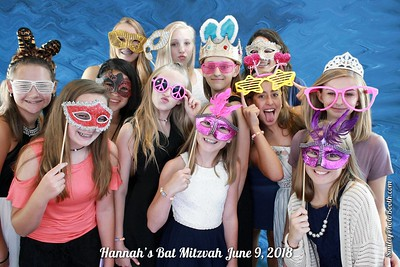 Hannah's Bat Mitzvah June 9, 2018
